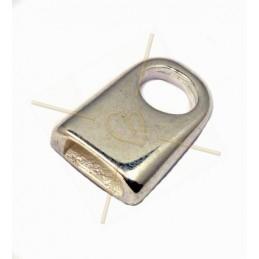 eindstuk voor leder 5mm