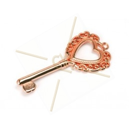 pendentif clé 59mm