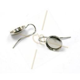 boucles d'oreille plateau 15mm
