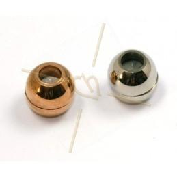 Fermoir acier magnet boule...