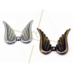 vleugels metaal 32*34.5mm