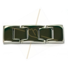 clasp steel for 14mm leather
