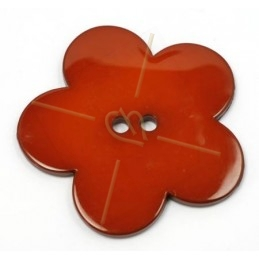 flower bigpop 60mm - brickred