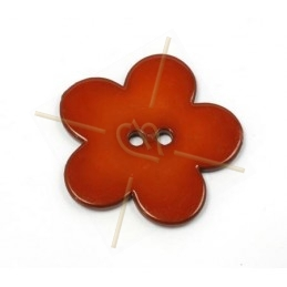 flower bigpop 40mm - brickred
