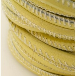 cuir rond 2.5mm Lime pastel