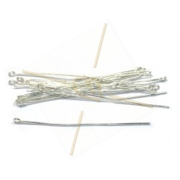 Headpins with ring 35mm