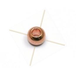 boule metal 5mm inter. 2.5mm