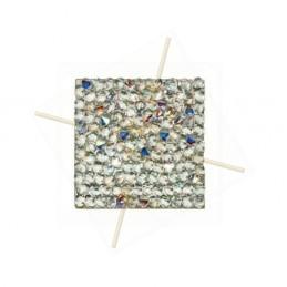 Rocks vierkant 15mm Cristal...