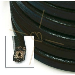 Mini-regaliz cuir 7*4.5mm...