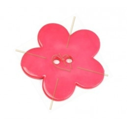 flower bigpop 40mm - pink