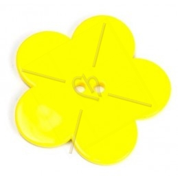 flower bigpop 60mm - Yellow
