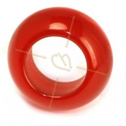 Ring Polaris 20mm Red bright