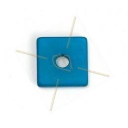 Polaris vierkant 15mm Blauw