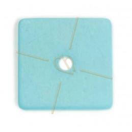 Polaris carre 25mm aquamarine