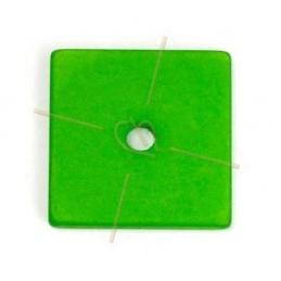 Polaris vierkant 25mm groen