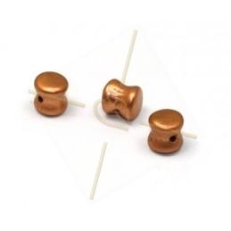 Pellet beads 4*6mm Vintage...
