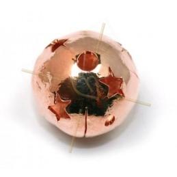 esfera metal con estrella...