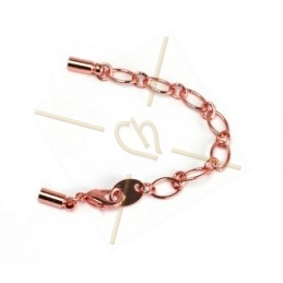 oval chain with carabiner +...
