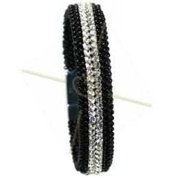 """kit du bracelet """"SemMesh"""" noir"""