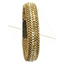 """kit du bracelet """"SemMesh"""" Or matt"""