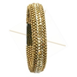 "Pack Bracelet ""Semmesh"" matt gold"