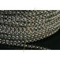 chaine acier ronde 2mm