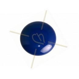 Cabochon Galastyl 24mm Marineblauw