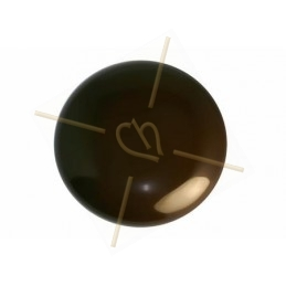 Cabochon Galastyl 30mm brown