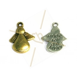 "Pendentif Ange ""Made for an Angel"" 17mm"