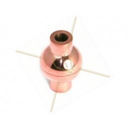 Fermoir magnetique acier rond pour 3mm