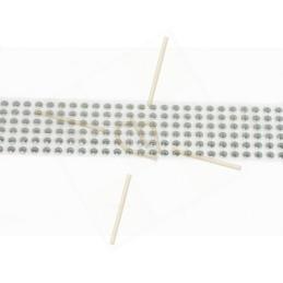 elastiekkoord 3mm fluo groen