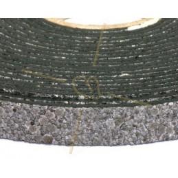cuir plat 10mm sable gris