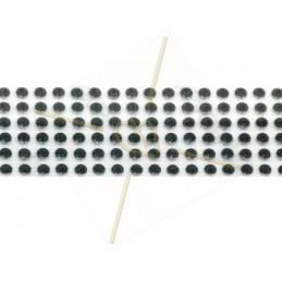 Swarovski Metallic Transfere noir