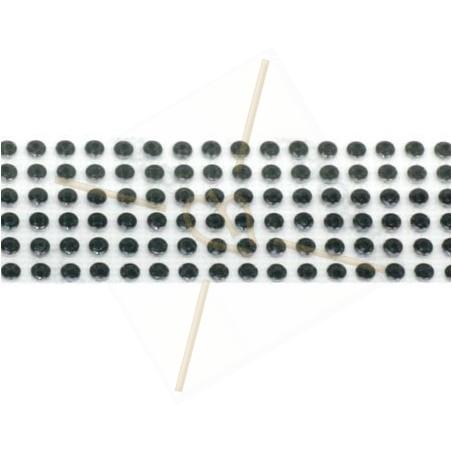 Swarovski Metallic Transfere black