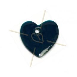 hanger 16mm emaille marine blauw