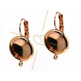 oorbellen met boord en montagering voor rivoli 12mm