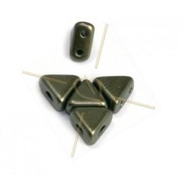 Crystal Rocks 24mm Silver Shade / groen fluo