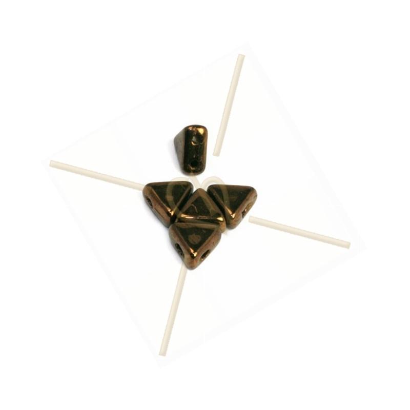 Kheops® Par Puca® perles 6mm Jet Copper