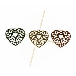 "pendant lasercut ""hart"" 17mm"