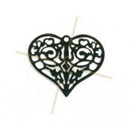 "pendant lasercut ""hart"" 25mm"