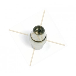 magneetslot staal voor 4mm