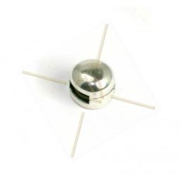 leerschuiver voor leder 5mm rond 8mm