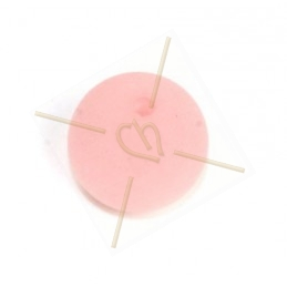 Polaris ronde boule 14mm Rose clair Matte