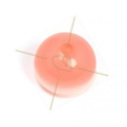 Polaris bol rond 14mm Rose Peach