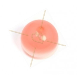Polaris ronde boule 14mm Rose Peach