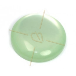 Polaris Cabochon 24mm pastelgroen