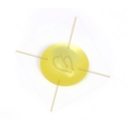 Polaris Cabochon 12mm jaune
