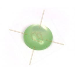 Polaris Cabochon 12mm pastelgroen