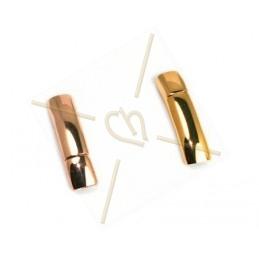 fermoir magnetique acier courbe  6*3.5mm