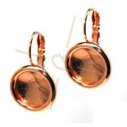 oorbellen met boord voor rivoli 12mm